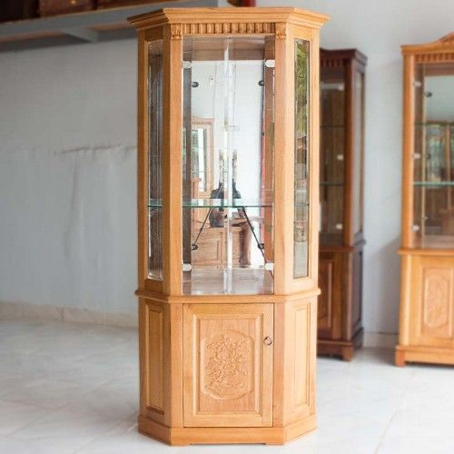 Mẫu tủ rượu bằng gỗ đinh hương