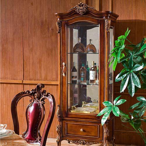Tủ rượu bằng gỗ