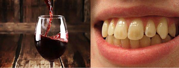 uống rượu bia có ảnh hưởng đến răng không