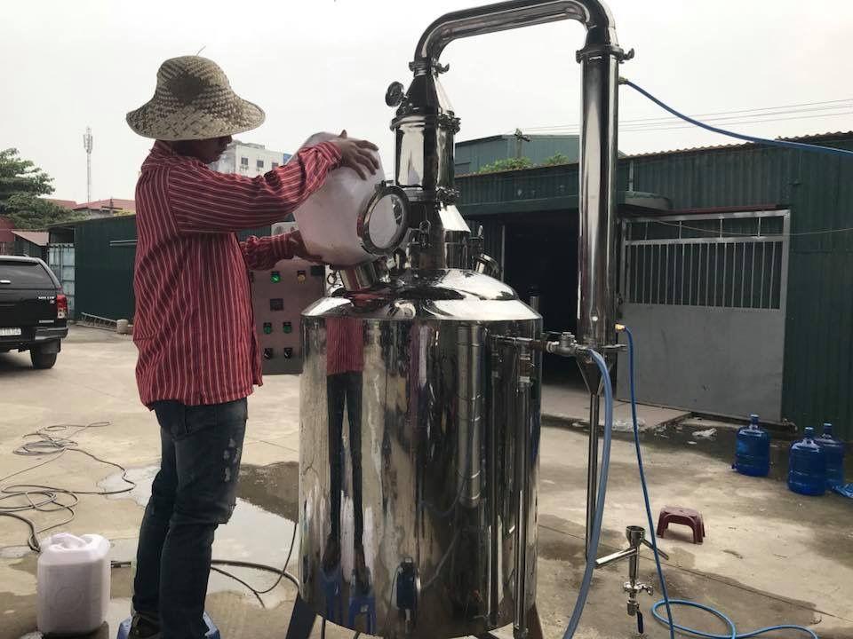 nồi nấu rượu bằng điện UHC Việt Nam