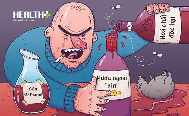 rượu pha cồn cực kỳ nguy hiểm