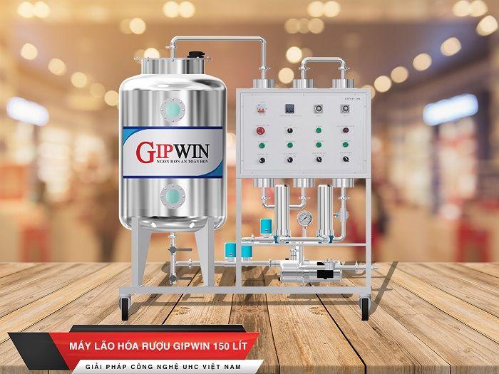 thiết bị xử lý rượu Gipwin 150 lit