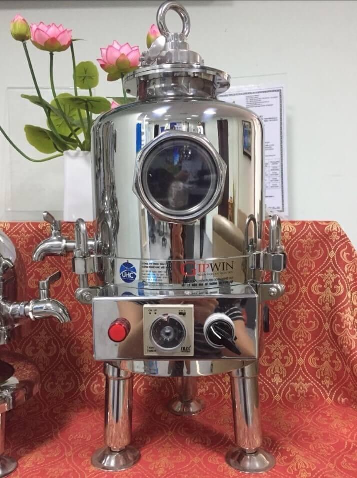 hình ảnh thực tế máy lão hóa rượu Gipwin 5L
