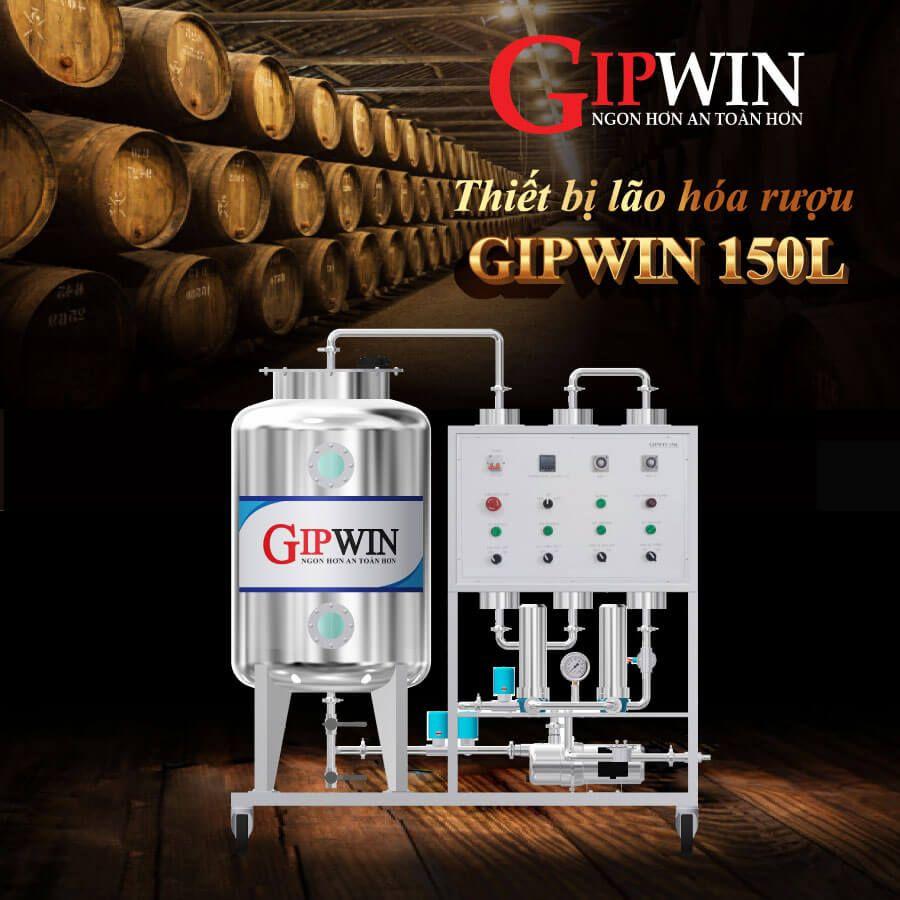 máy lão hóa rượu Gipwin 150l