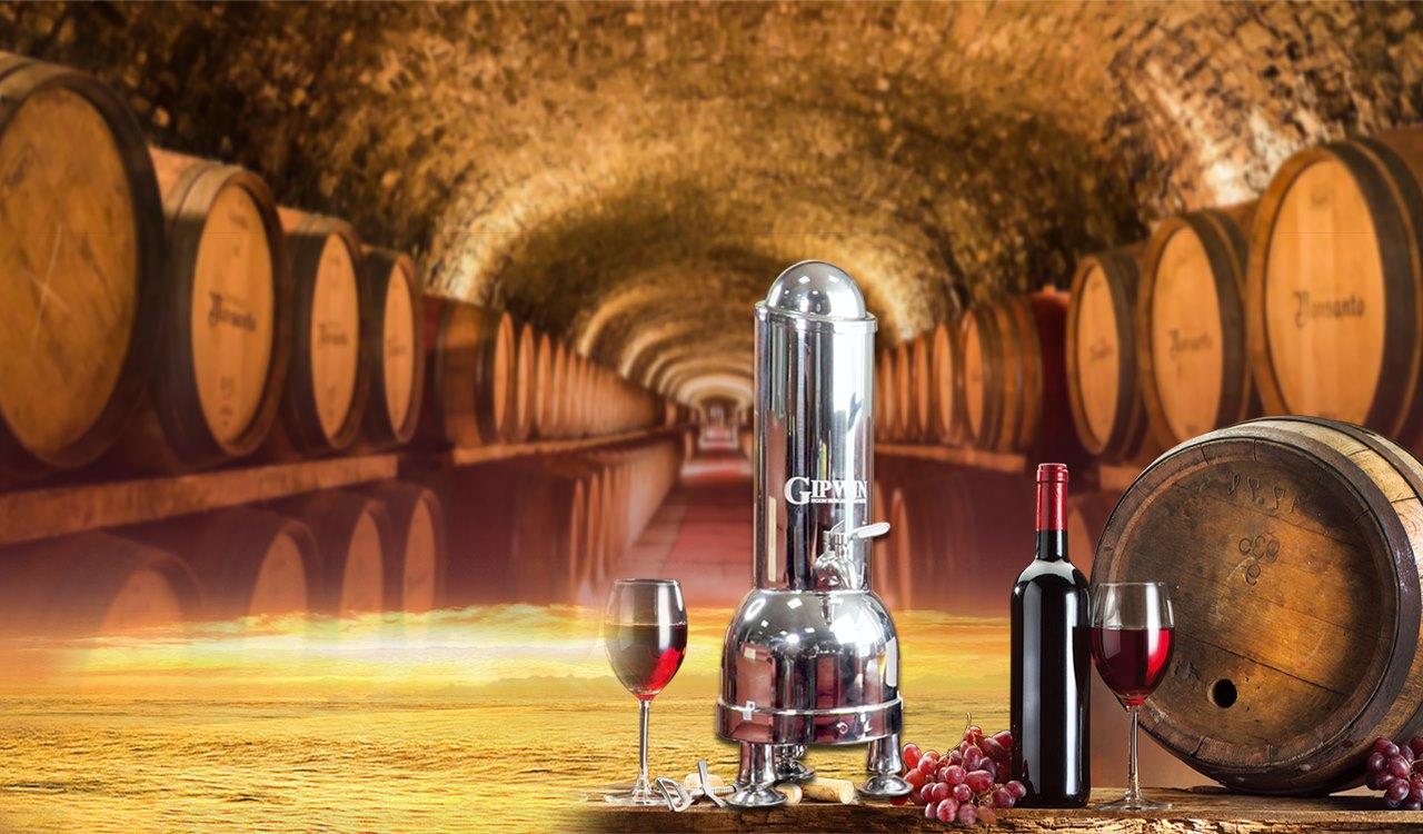 Máy lão hóa rượu Gipwin 1,8 lít.