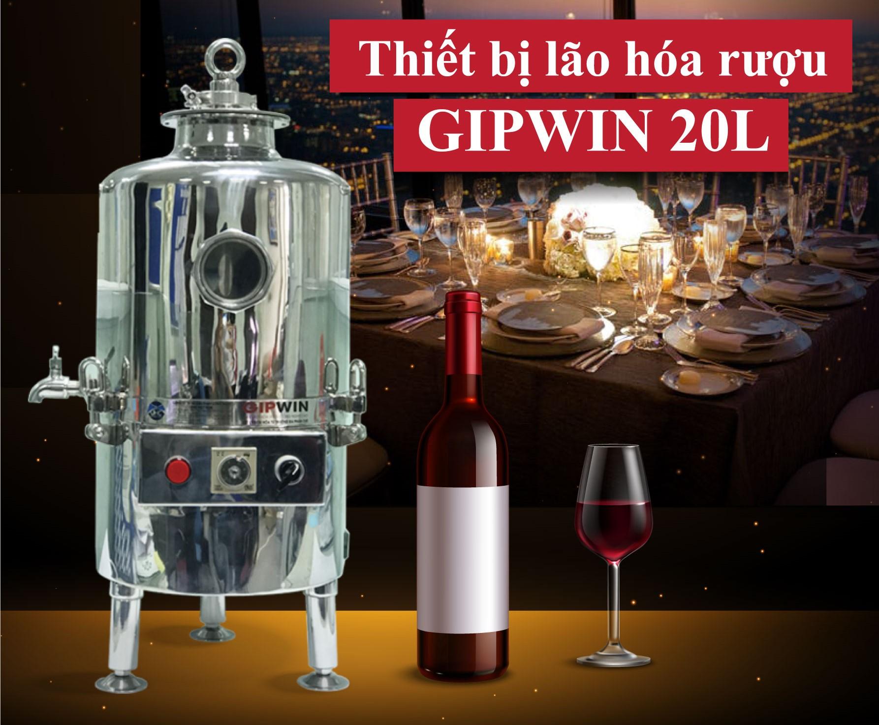 Máy lọc rượu cộng nghiệp Gipwin 20 lít